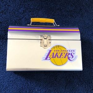 Other - Lakers Lunch Box Metal Lunch Box NBA Basketball